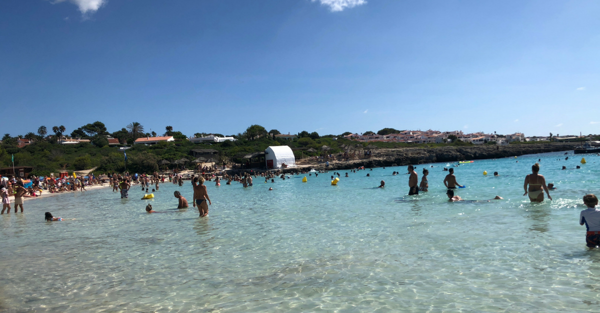 Best family friendly beaches in Menorca