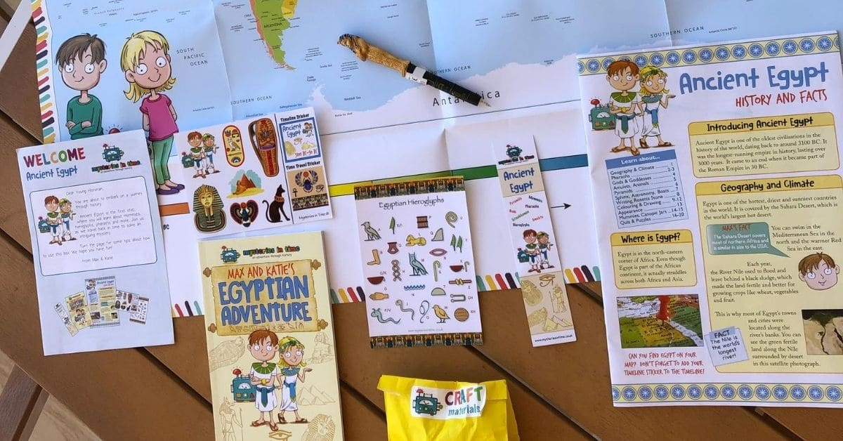 fun activities to do at home with the kids_Mysteries in Time