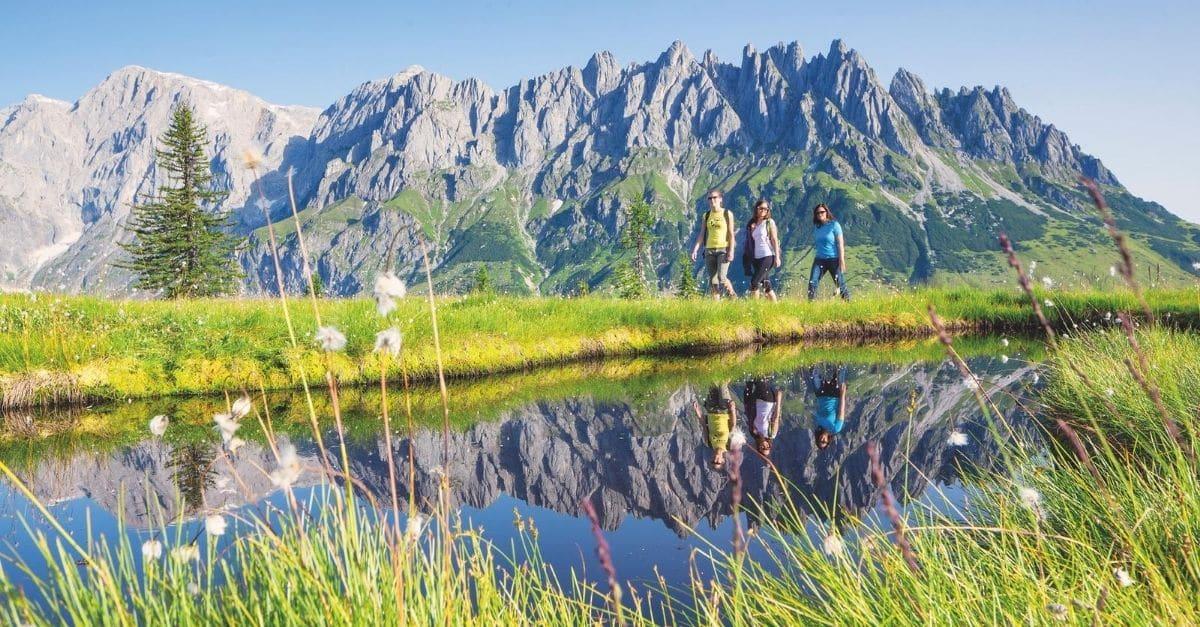summer in Salzburgerland