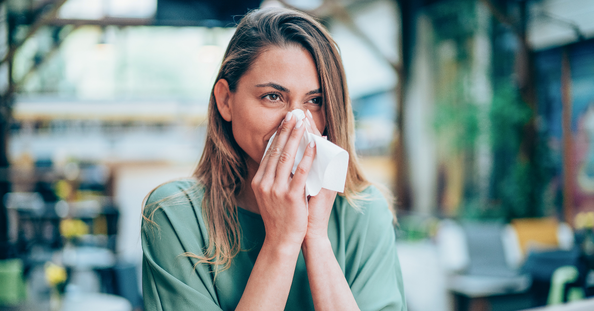 coping with allergies when travelling